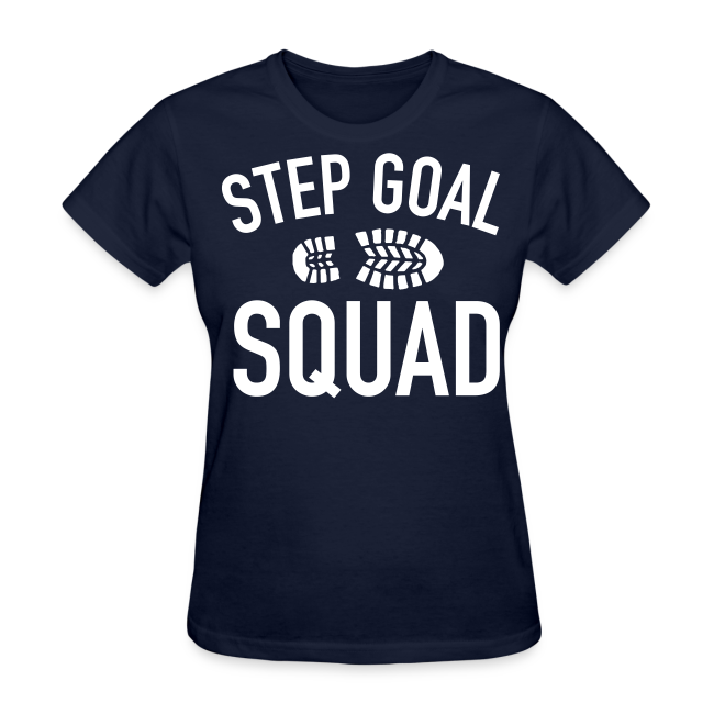 Step Goal Squad #3 Design
