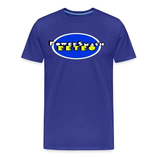 PowerSmashRetro Tee-Shirt - Men's Premium T-Shirt