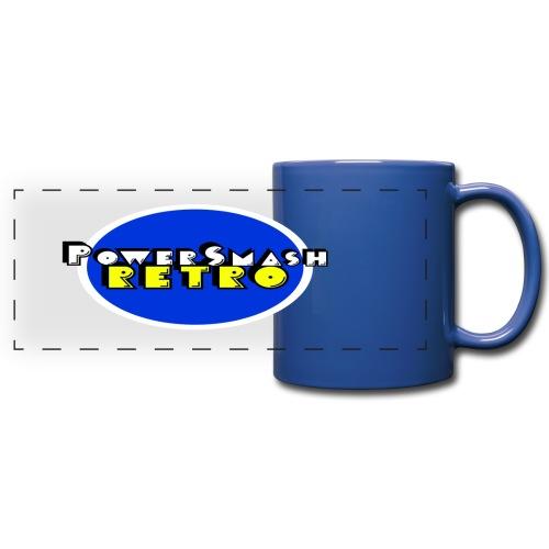 PowerSmashRetro panoramic Mug - Full Color Panoramic Mug