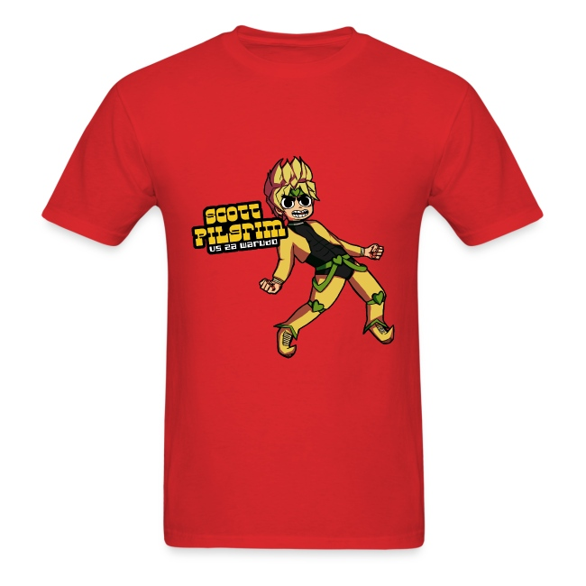 94d22ba4001 Scott Pilgrim VS. Za Warudo Men s shirt