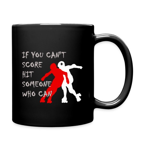 Hit Someone Roller Derby Mug - Full Color Mug