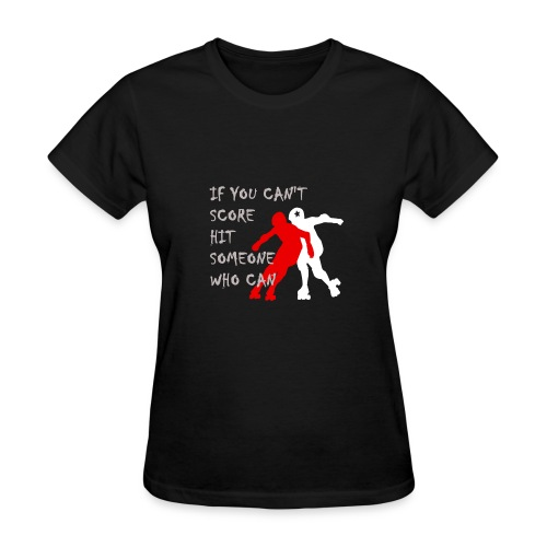 Hit Someone Roller Derby Shirt - Women's - Women's T-Shirt