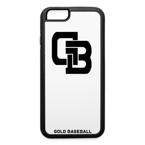 Gold Baseball Phone Case ( IPHONE 6/6s) - iPhone 6/6s Rubber Case