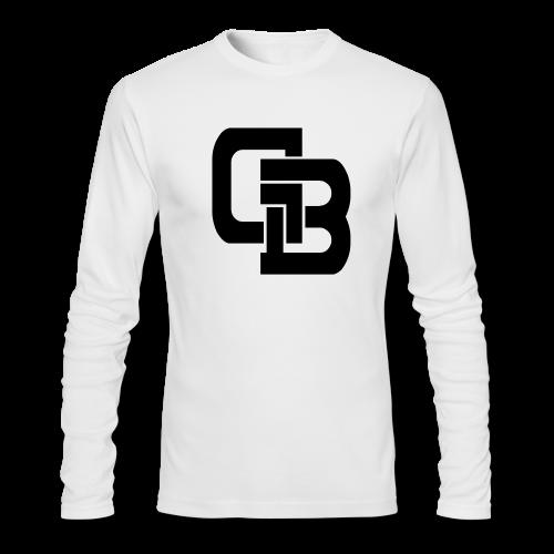 Gold Baseball Logo T-Shirt - Men's Long Sleeve T-Shirt by Next Level