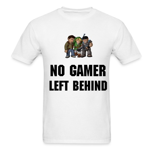 No Gamer Left Behind ( men ) - Men's T-Shirt