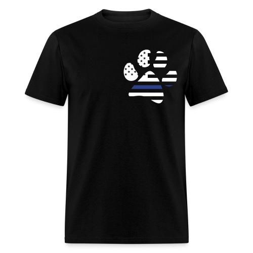 K-9 Paw Flag (Basic) - Men's T-Shirt