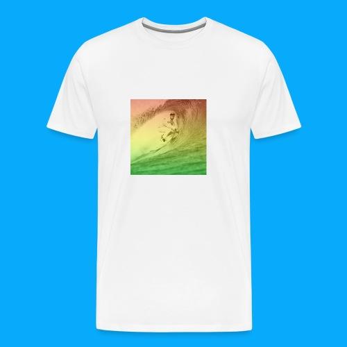 KRS Gets Tubed - Men's Premium T-Shirt
