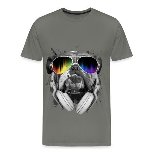 BullDog DJ - Men's Premium T-Shirt