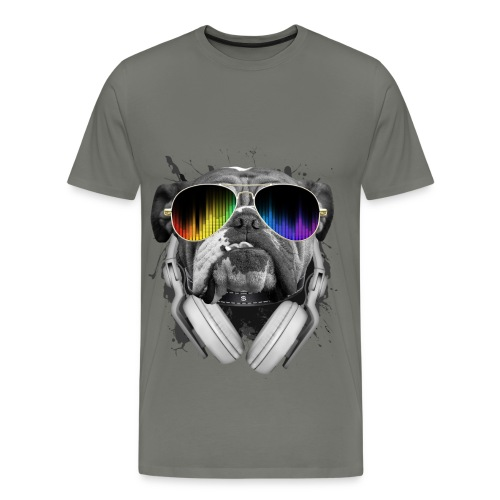 BullDog DJ - Men's Premium T-Shirt