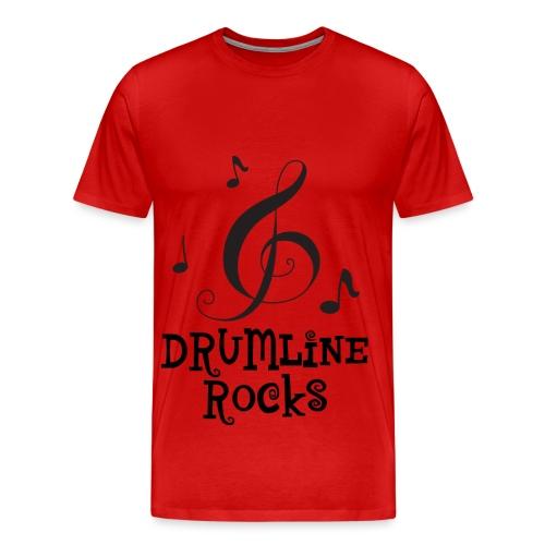 Drumline Rocks Marching Band - Men's Premium T-Shirt
