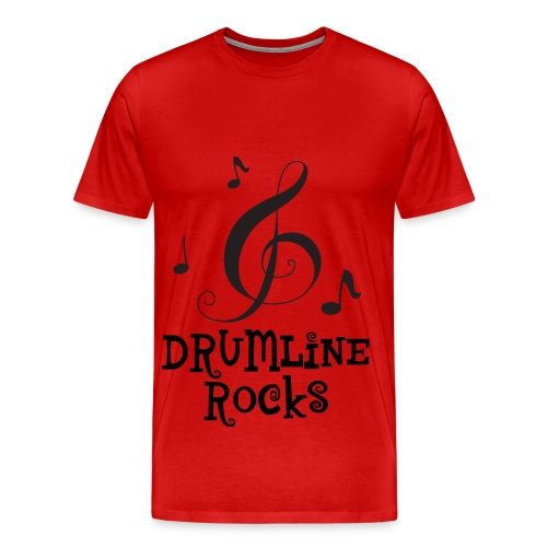 Drumline Rocks Marching Band - Men's Premium T-Shirt