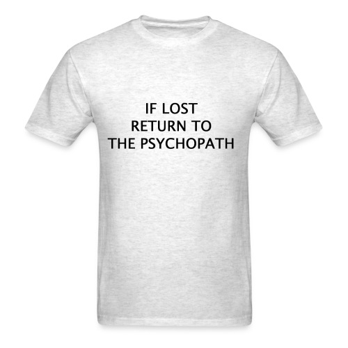 If Lost (1/2) - Men's T-Shirt