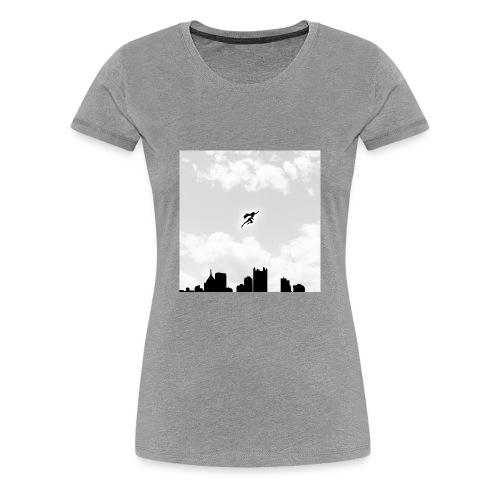 Solar B&W Women's - Women's Premium T-Shirt