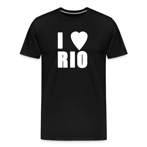 I LOVE RIO - Men's Premium T-Shirt