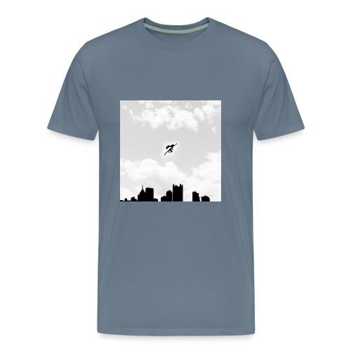 Solar B&W Men's - Men's Premium T-Shirt