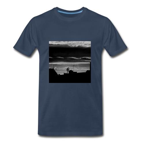 Dancer B&W Men's - Men's Premium T-Shirt