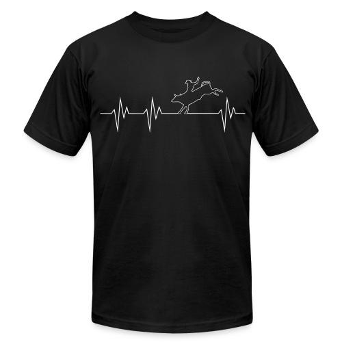Bull Rider T-Shirt - Men's Fine Jersey T-Shirt
