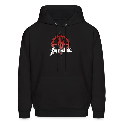 Team Impulse Black-Hoodie - Men's Hoodie