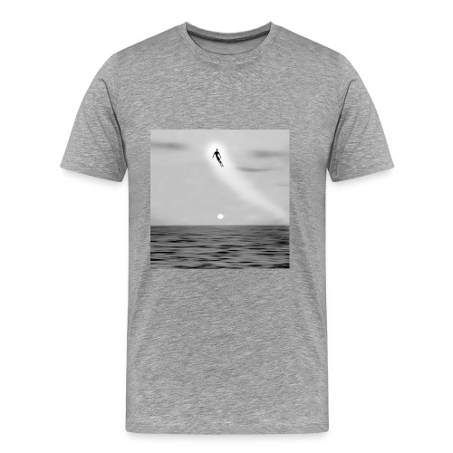 Straylight B&W Men's - Men's Premium T-Shirt