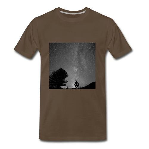 Titus B&W Men's - Men's Premium T-Shirt