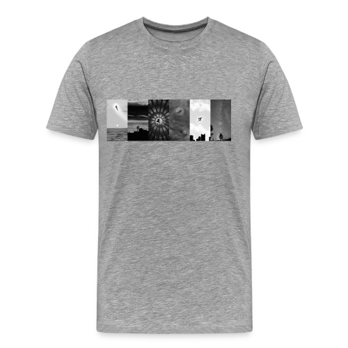 Indestructibles Team B&W Men's - Men's Premium T-Shirt