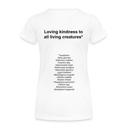 Women's loving kindness - Women's Premium T-Shirt