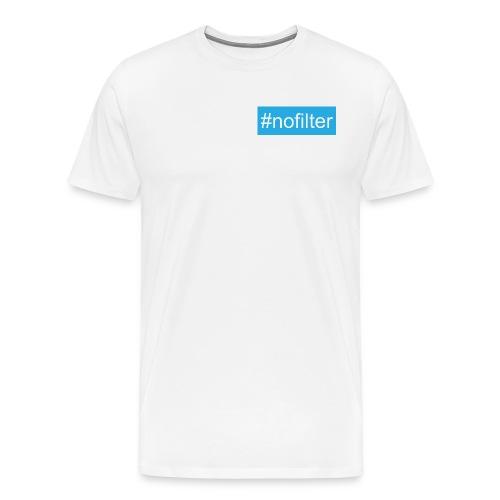 #nofilter T-shirt - Men's Premium T-Shirt