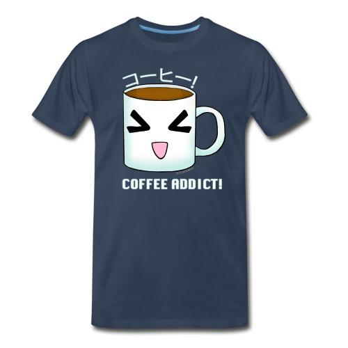 COFFEE ADDICT TSHIRT - Men's Premium T-Shirt