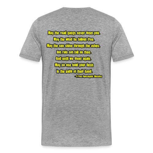 A Post-Apocalyptic Blessing - Men's Premium T-Shirt