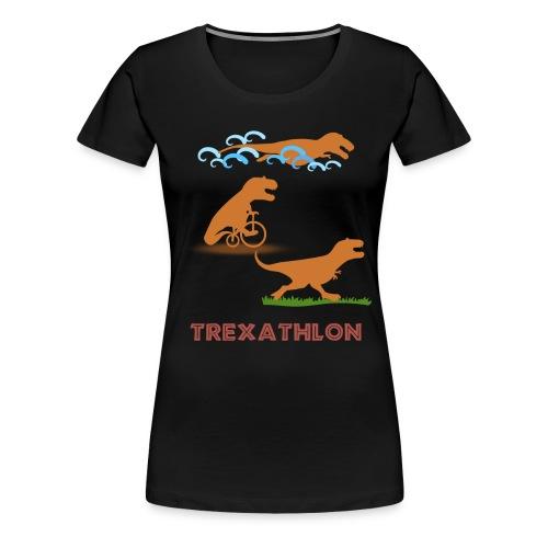Trexathlon Black - Women's Premium T-Shirt