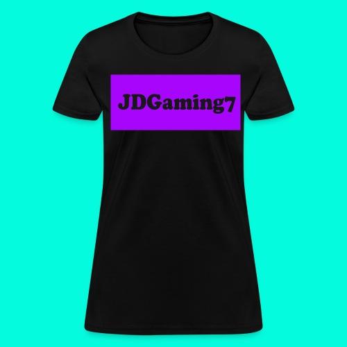 Women's JDGaming7 T-Shirt (Purple Logo) - Women's T-Shirt