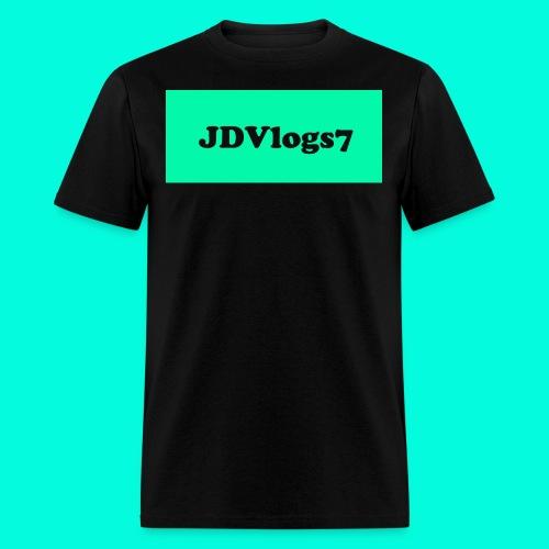 Men's JDVlogs7 T-Shirt (??? Logo) - Men's T-Shirt