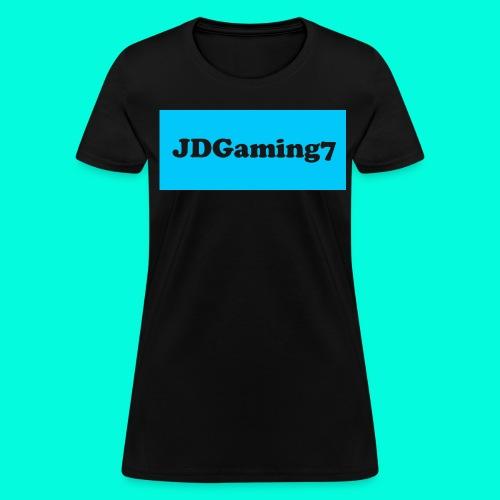 Women's JDGaming7 Logo (LightBlue Logo) - Women's T-Shirt