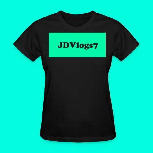 Women's JDVlogs7 T-Shirt (??? Logo) - Women's T-Shirt