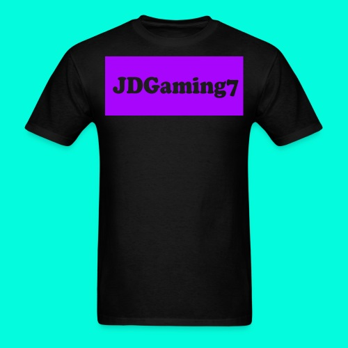 Men's JDGaming7 Logo (Purple Logo) - Men's T-Shirt