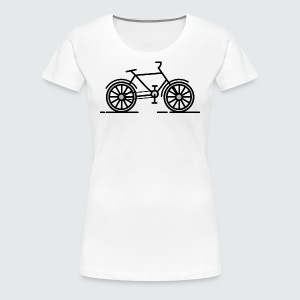 Womans Bike T-shirt - Women's Premium T-Shirt
