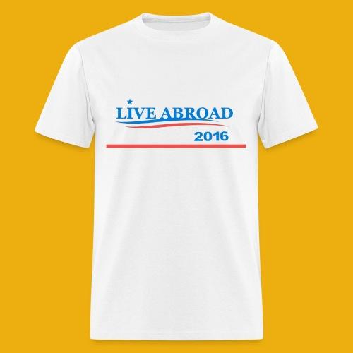 Live Abroad Male T  - Men's T-Shirt
