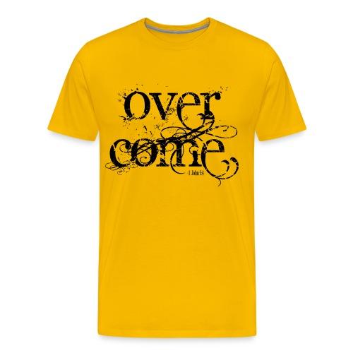 Overcoming Faith (PREMIUM) - Men's Premium T-Shirt