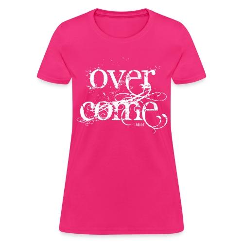 Overcoming Faith  - Women's T-Shirt