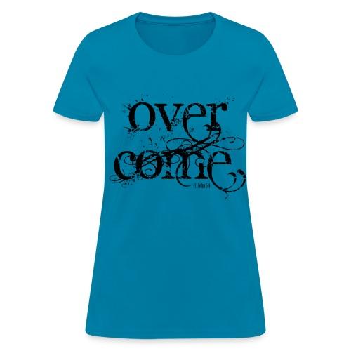 Overcoming Faith (Ladies) - Women's T-Shirt