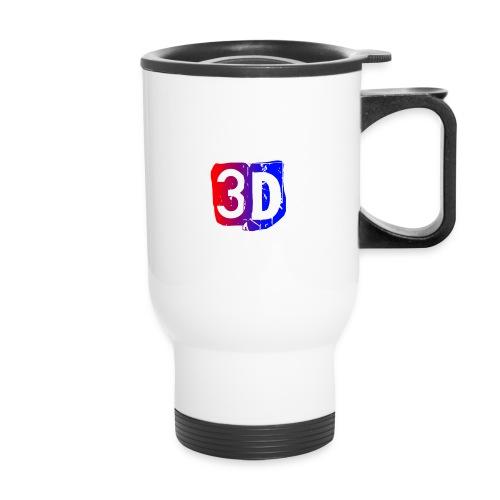 (ChewBacca3D LOGO) ToGo Coffee Drink - Travel Mug