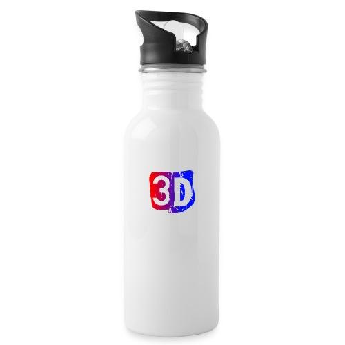 (ChewBacca3D LOGO) Water Bottle - Water Bottle