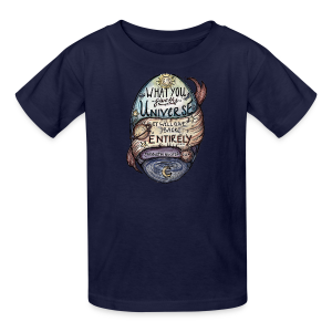 Universe color youth tee - Kids' T-Shirt