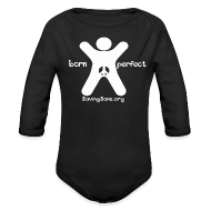 Baby Bodysuits ~ Baby Long Sleeve One Piece ~ born perfect