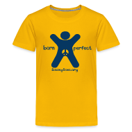Kids' Shirts ~ Kids' Premium T-Shirt ~ born perfect