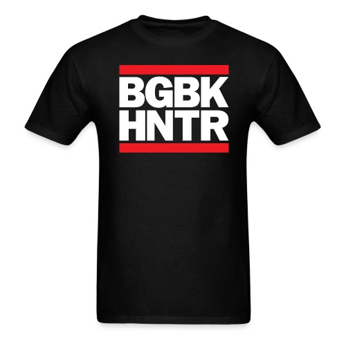 BGBK HNTR - Men's T-Shirt