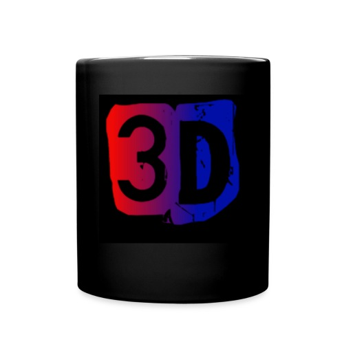 (ChewBacca3D LOGO) Black Mug - Full Color Mug