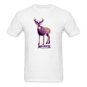 Polygon Deer - Men's T-Shirt