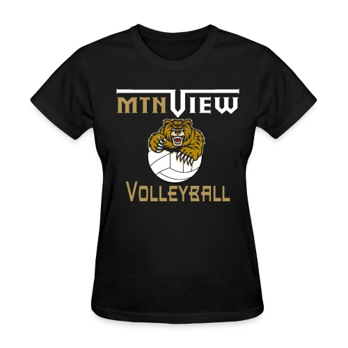 Mtn View Women's Volleyball T-Shirt - Women's T-Shirt