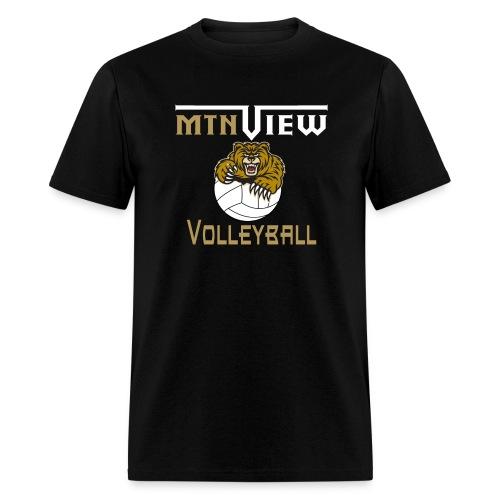 Mtn View Volleyball Men's T-Shirt - Men's T-Shirt